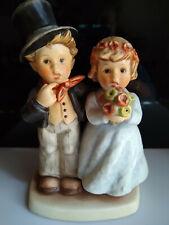 "Hummel Dearly Beloved 2003 Bride & Groom Tmk8 6 5/8"" Mint Wedding Gift No Box"