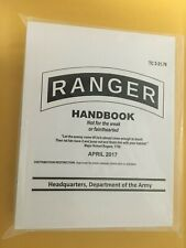 Us Army Ranger Handbook (April 2017 Edition)