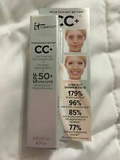 IT COSMETICS Your Skin But Better CC+ Cream MEDIUM Travel Mini .135 fl oz NIB