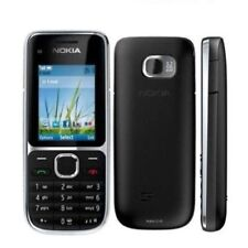 Nokia C2-01 Black 3.2MP 1020mAh Unlocked 3G Symbian Keyboard Cellphone
