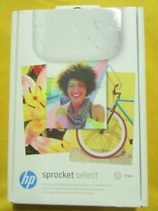 HP Sprocket Select Portable Instant Photo Printer - New & Sealed