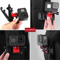 Adjustable Backpack Camera Clamp Mount Screw Parts For GoPro Osmo Action/Pocket