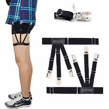 2pcs Pair S Holders Hidden Suspenders - Keeping Your Shirt Tucked In All Day nv
