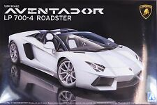 Aoshima 1/24 Lamborghini Aventador Roadster PLASTIC KIT US SELLER IN STOCK 0865