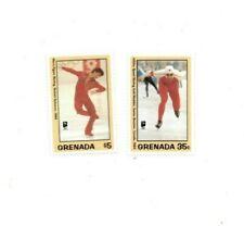 Grenada - 1993 - Winter Olympics - Set Of 2 Stamps - MNH