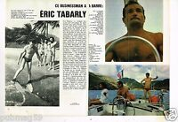 Coupure de presse Clipping 1977 (2 pages) Eric Tabarly