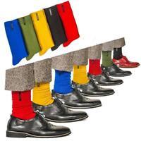 Mode Herren Socken Normallack Britische Art Geschäfts Zufällige Socken Neu K4Y0
