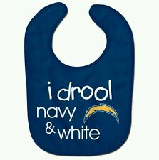 LOS ANGELES CHARGERS BABY BIB