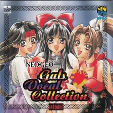 Official Japanese Audio CD SNK NEO GEO GALS Vocal Collection  AES MVS POCKET