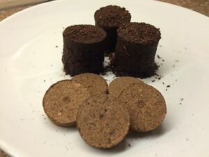 50mm Coir Discs Compost for Filling Plug Trays Expand in a Jiffy