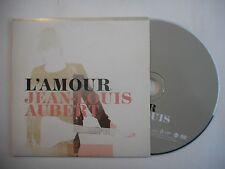 JEAN LOUIS AUBERT : L'AMOUR [ CD SINGLE PORT GRATUIT ]
