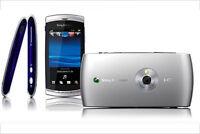 BRAND NEW GENUINE SONY ERICSSON Vivaz U5i 3G Black EE NETWORK IN ORIGINAL BOX