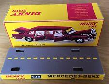 Dinky 128 CODE 3 Mercedes-Benz 600 Empty Repro Box