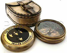 THE BEATLE FINDER Compass YELLOW SUBMARINE Poem Engrave
