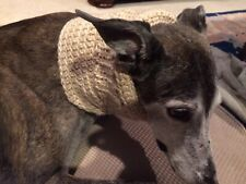 Greyhound Dog Beige 2 Snood to Cover Neck **100% Donation 2 Cure K9 Cancer
