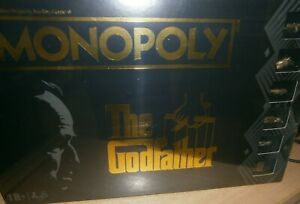 The Godfather Monopoly + 6 Bespoke Tokens
