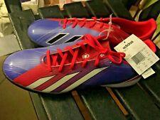 Adidas F10 Trx Tf Turf Messi Soccer Shoes Turbo Red Fuchsia Violet Sz 12 New Tag
