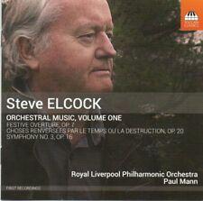 Steve Elcock - Symphony No 3 / Festive Overture etc - Toccata Classics - Mint