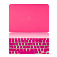 "Rubberized Hard Case+Keyboard Cover Skin for MacBook Air Pro Retina 11"" 13"" 15"""