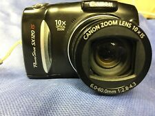 Canon Powershot SX120 IS - 10x Optical Zoom -  Tested!