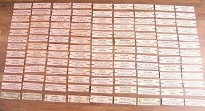 LOT of over 110+ JUKEBOX TITLE STRIP BEATLES - BB KING - M.GAYE- CHRISTMAS  L3