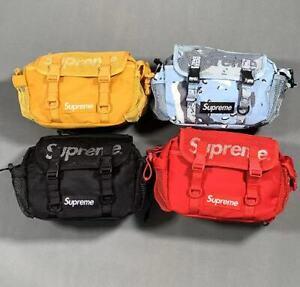 New Multicolor Fanny Pack Supreme Crossbody Shoulder SS20 Bag