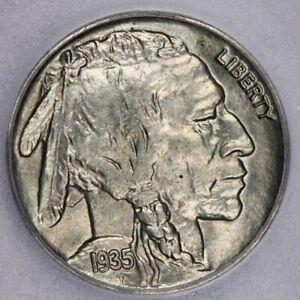 1935-P 1935 Buffalo Nickel ICG-MS64+