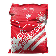 Sydney Swans Bean Bag GIANT BIG AFL Aussie Rules Christmas Gift SALE