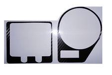 HONDA CBR900RR 2000- 2002 Carbon Fiber Look Clock Surround Protector Cover Decal