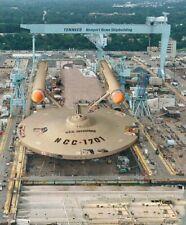 # STAR TREK 60S USS ENTERPRISE NCC 1701 10 FRIDGE MAGNET,IMAGE SIZE 70MM X 45MM