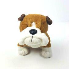 "Ganz Webkinz Bulldog Hm126 Plush No Code Stuffed Animal 9"""