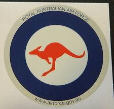 RAAF Royal Australian Air Force Roundel Metallic Sticker