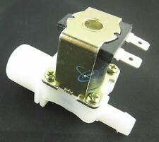 """12V 3/4"""" BSP Inlet IN to 12mm 11mm Outlet Out Solenoid Valve Water Inlet Feed NC"""