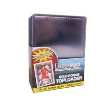 25ct ROOKIE Sports Trading Card Top Loaders: baseball, football, hockey 3x4
