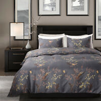 New Printed Duvet Quilt Cover&Pillowcase Soft Bedding Sets Twin Queen King Size