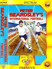 ZX SPECTRUM GAME - Peter Beardsley's International Football - FREE UK POSTAGE