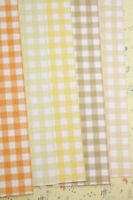 Colorful Gingham Card Stock 250gsm check pattern scrapbooking paper cardstock