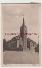 (76898) AK Wilkau i. Sa. (bei Zwickau), Rathaus, 1929