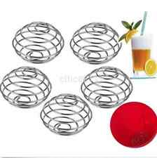 1pc Spring Protein Wire Mixing Mixer Ball For Shaker Drink Bottle Cup UK