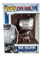 Funko Pop War Machine Marvel Civil War 128 Vinyl Bobble Head Collectible New