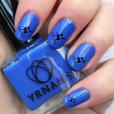 Nail WRAPS Nail Art Water Transfers Decals - Snow Board Girl - S569