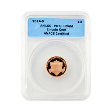 2014 Shield Cent - San Francisco Mint Proof - Certified ANACS PR70
