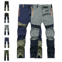 Mens Casual Waterproof Outdoor Hiking Climbing Combat Trousers Tactical Pants