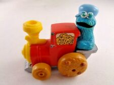 Muppets Die Cast 1981 Vintage Hasbro Cookie Monster Red Train