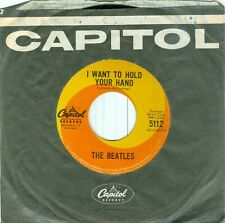 MFD CANADA 1964 45RPM - THE BEATLES – I WANT TO HOLD YOUR HAND - I SAW HER....