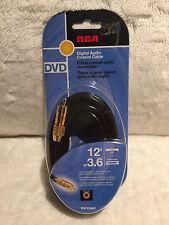 RCA Digital Audio Coaxial Cable 12'/3.6m