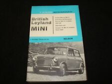BRITISH LEYLAND MINI FROM 1967 P.OLYSLAGER MOTOR MANUAL AUSTIN, RILEY, WOLSELEY
