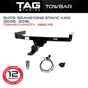 TAG Towbar Fits Ssangyong Stavic 2005 - 2016 Towing Capacity 2850Kg 4x4 Exterior