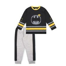 DC Comics Batman Boys Long Sleeve T-Shirt & Jogger Sweatpants Outfit Set Size 5