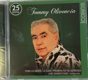 TOMMY OLIVENCIA ICONOS 25 EXITOS - 2 CD's - BRAND NEW SEALED.